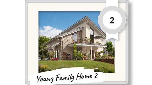 2. Platz Leserhauswahl 2017 - Young Family Home
